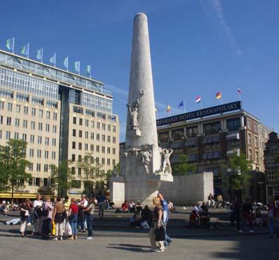 Plaza dam for Hoteles en el centro de amsterdam